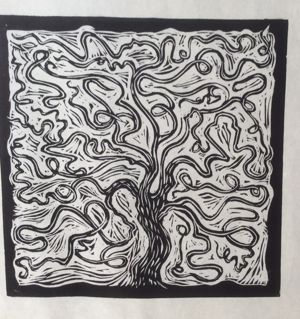 squiggly tree